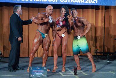 i vincitori del 2021 IFBB ELITE PRO CZECH REPUBLIC