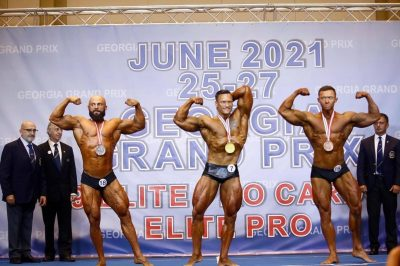 Deividas Guzys vince ll'IFBB ELITE PRO GEORGIA 2021
