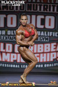 Nadia Capotosto vince il puerto rico pro ifbb 2021 categoria women's bodybuilding