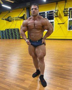 hassan mostafa posa di most muscular luglio 2021