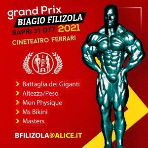 locandina grand prix biagio filizola 2021 sapri