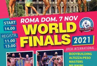 locandina ibfa world finals 2021 roma
