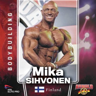 mika sihvonen gareggerà all'arnold classic europe 2021