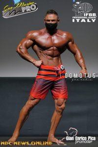 riccardo croci vince il san marino classic 2020 nella categoria men's classic physique