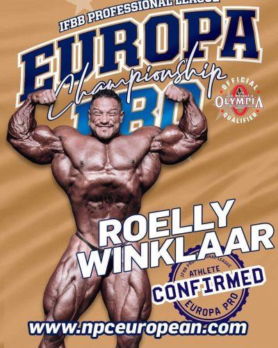 roelly winklaar gareggerà all'europa pro championships 2021
