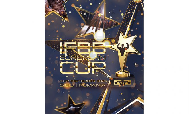 IFBB EUROPEAN CUP 2021 locandina