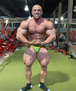 Mohammed Shabaan ROAD TO 2021 TAMPA PRO IFBB 1 DAY OUT POSA MOST MUSCULAR