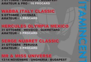 le gare della seconda parte della stagione della wabba italia per il 2021