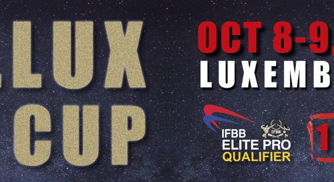 2021 IFBB BELLUX CUP LUXEMBOURG locandina