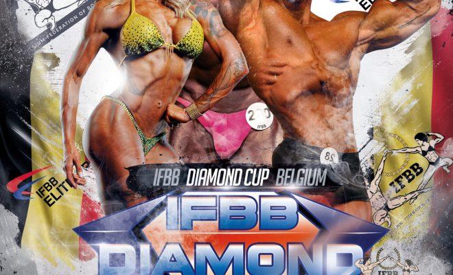 2021 IFBB DIAMOND CUP BELGIUM locandina