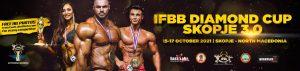 2021 IFBB DIAMOND CUP SKOPJE locandina