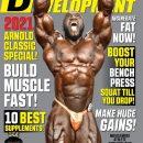 akim williams sulla cover della rivista muscular development di settembre 2021