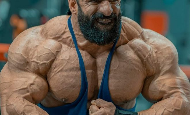 la posa di most muscular di hadi choopan road to 2021 mister olympia