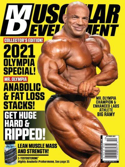 BIG RAMI SULLA COVER DI MUSCULAR DEVELOPMENT DI OTTOBRE 2021