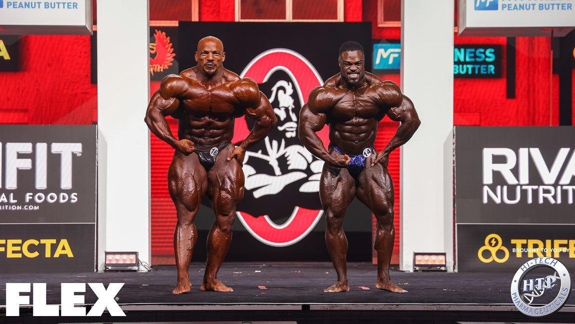 last callout 2021 mister olympia big rami vs brandon curry posa di most muscular